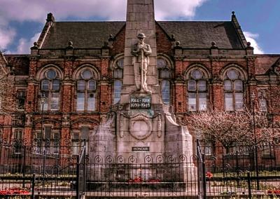 Fenton town hall.